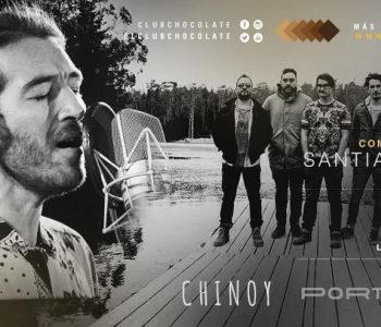 Chinoy y Portugal se presentarán juntos en Club Chocolate