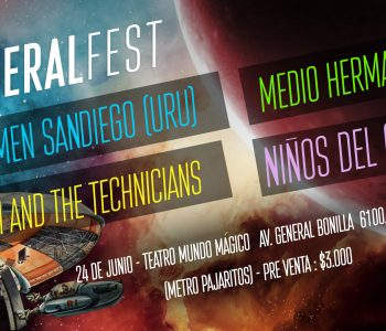 Sideral Fest: Reúne a importantes bandas indie latinoamericanas.